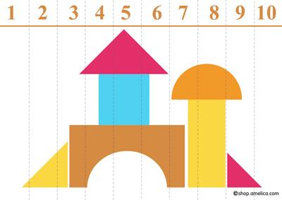 учим цифры с ребенком, цифры для детей, учимся считать, цифры от 1 до 10