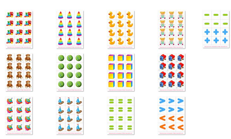 Раздаточный материал по математике в картинках 3 класс скачать