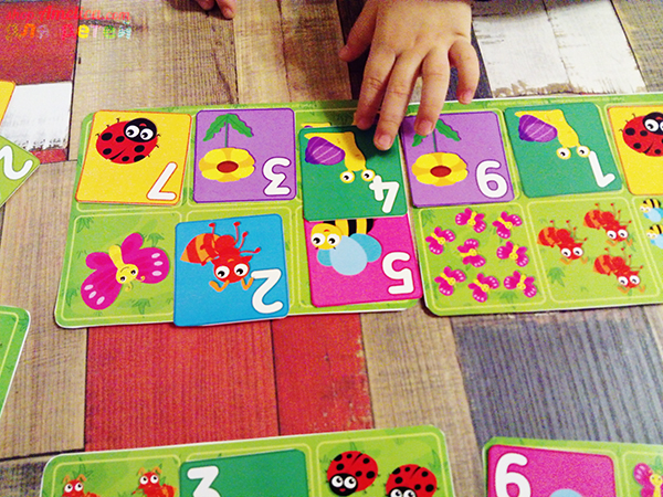 Математическое лото для детей