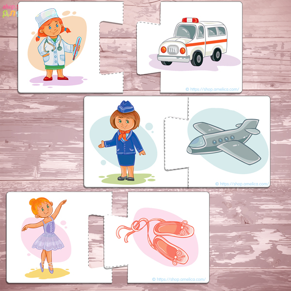 картинки профессии для детей, дидактическая игра для малышей