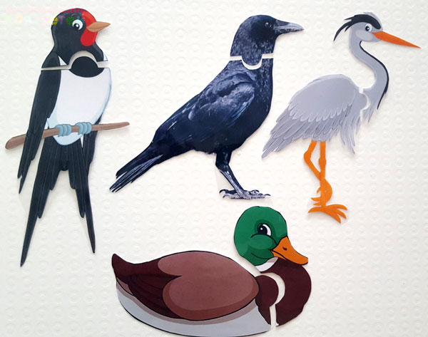 детская дидактическая игра, игра перелетные птицы