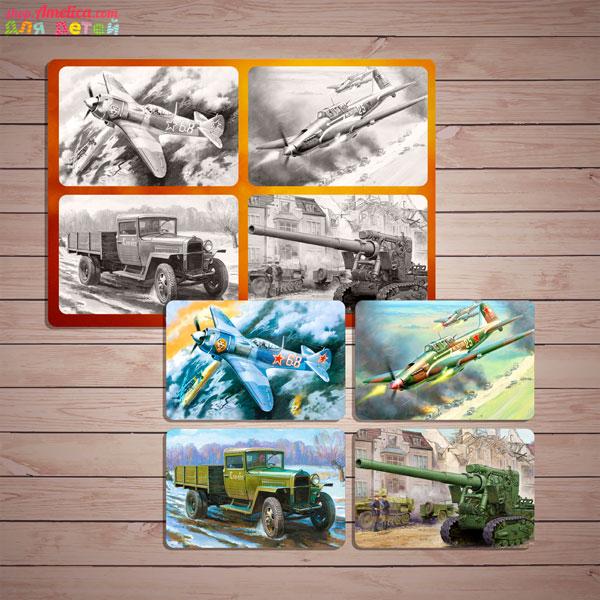 Игры для детей ко Дню Победы, лото военная техника, игры на 9 мая в детском саду,