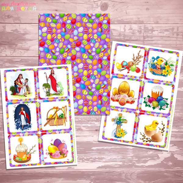 Игры на Пасху, пасхальное мемори для детей, игра мемори для детей