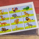 Игры умные липучки для детей. Дидактическая игра «Чей это хвостик»