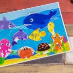Игры умные липучки для детей. Дидактическая игра «Кто живет в океане»