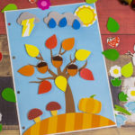Игры умные липучки для детей. Дидактическая игра «Времена года»