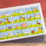 Игры умные липучки для детей. Дидактическая игра «Животные — мамы и малыши»