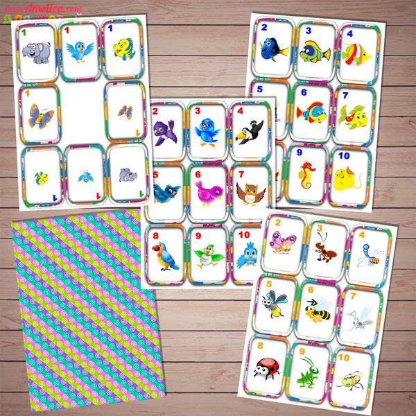 Настольные игры скачать для печати, развивающая математическая игра
