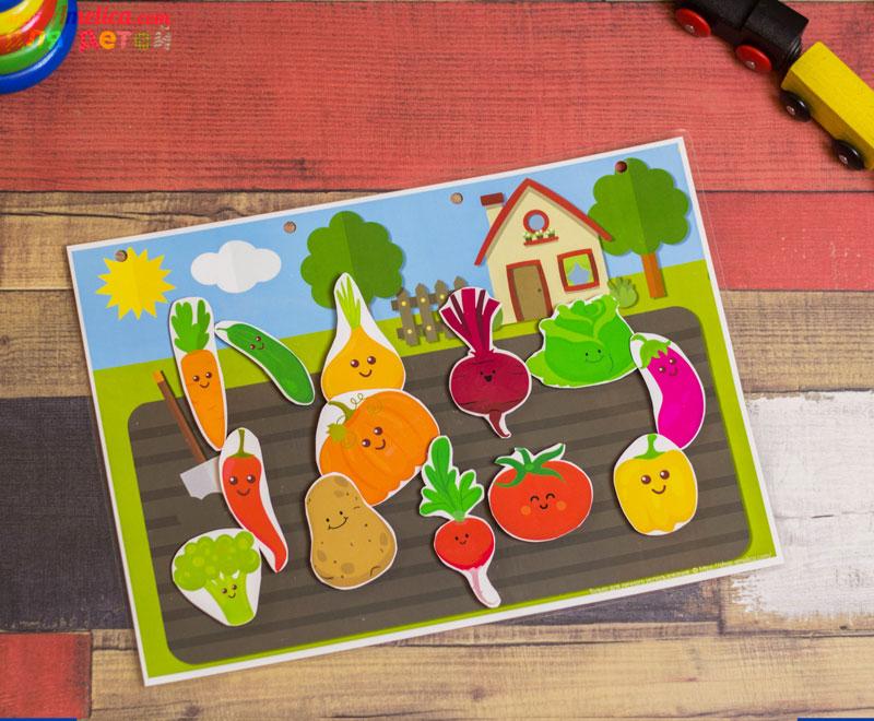Игры на липучках, игры умные липучки, дидактическая игра огород, игра изучаем овощи, дидактическое пособиедля детского сада