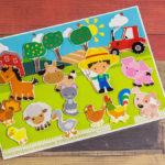 Игры умные липучки для детей. Дидактическая игра — аппликация на липучках «Кто живет на ферме»