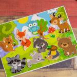 Игры умные липучки для детей. Дидактическая игра — аппликация на липучках «Кто живет в лесу»