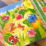Игры умные липучки для детей. Развивающее теневое лото «Кто на полянке живет» скачать для печати