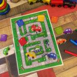 Игры умные липучки для детей. Развивающая игра — лабиринт «Город».