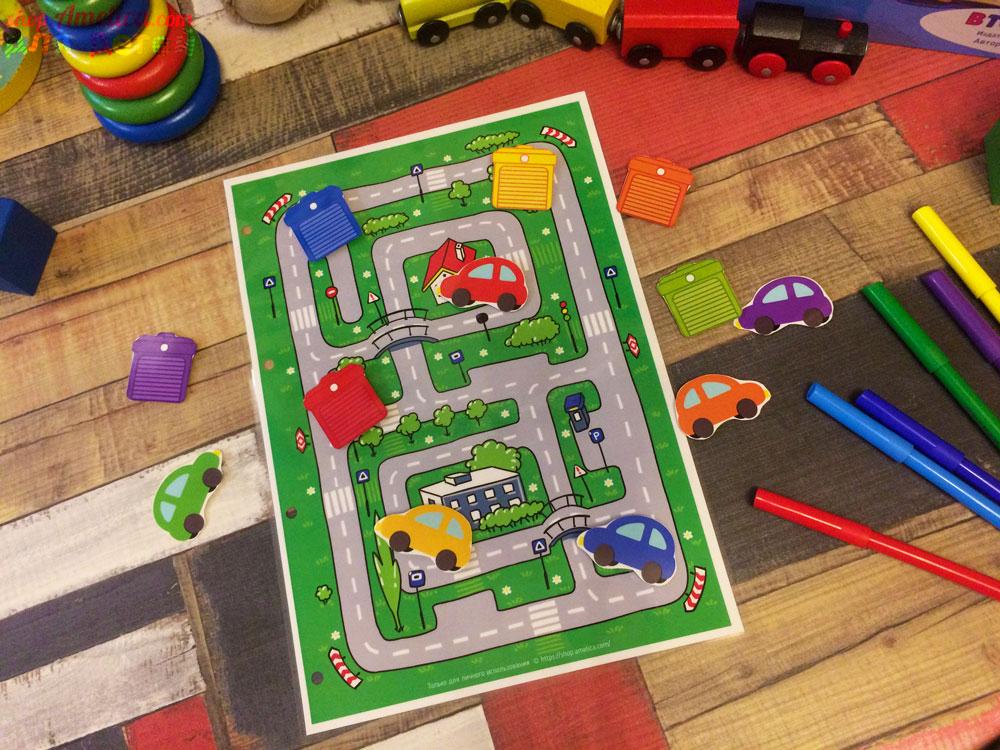 Игры на липучках, игры умные липучки, игра - лабиринт, дидактическое пособиедля детского сада