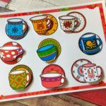 Игры умные липучки для детей. Дидактическая игра «Подбери чашку к тарелочке»