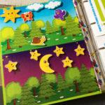 Игры умные липучки для детей. Дидактическая игра «День — Ночь»
