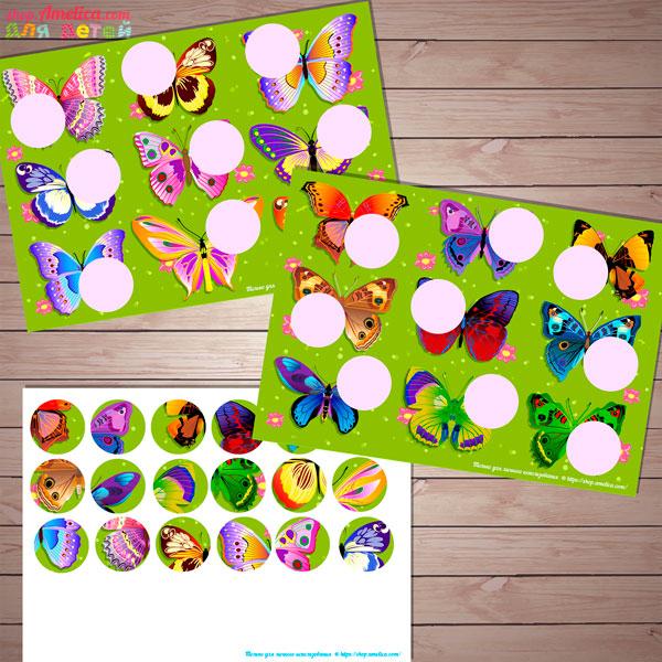 Игры про лето для детей, дидактическое лото - головоломка для детей