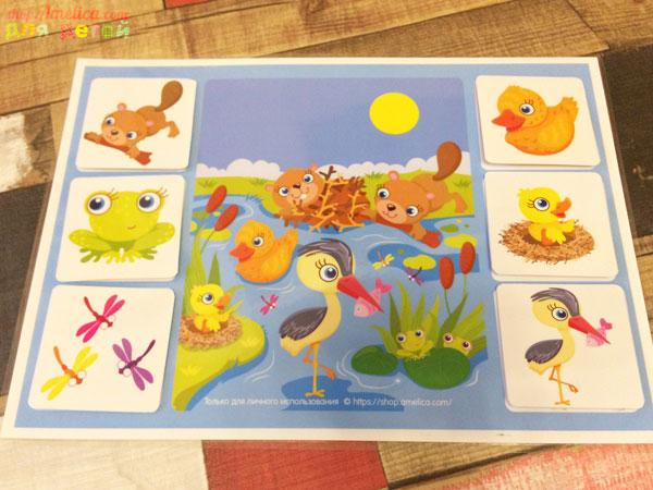Игры на липучках, игры умные липучки,лото в мире животных, развивающее лото, игра про животных,игра — лото для детей про животных