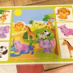 Игры умные липучки для детей. Развивающее лото «В мире животных»
