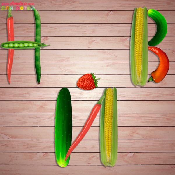Настольные игры скачать для печати, развивающая игра «Ягодно - овощные буквы и цифры»