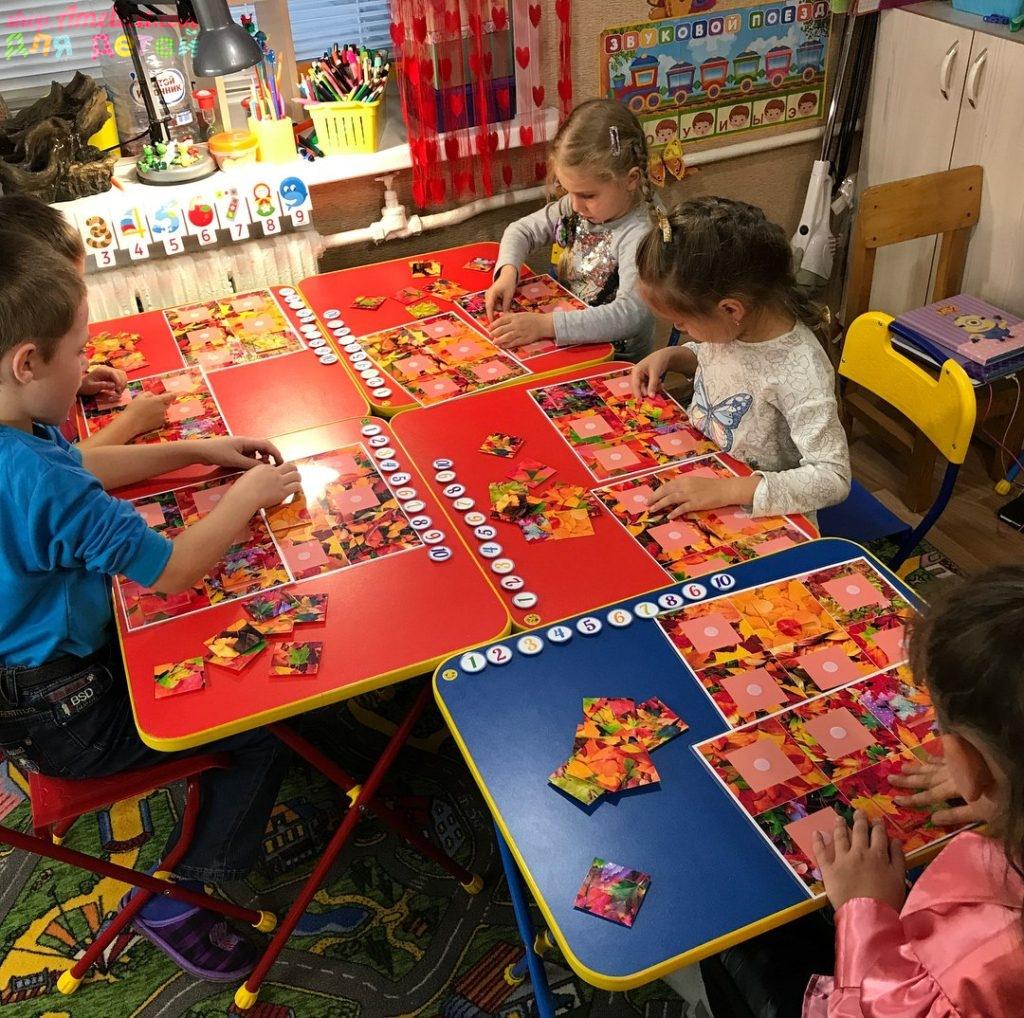 Игры про осень для детей, тематический комплект «Осень» скачать для печати