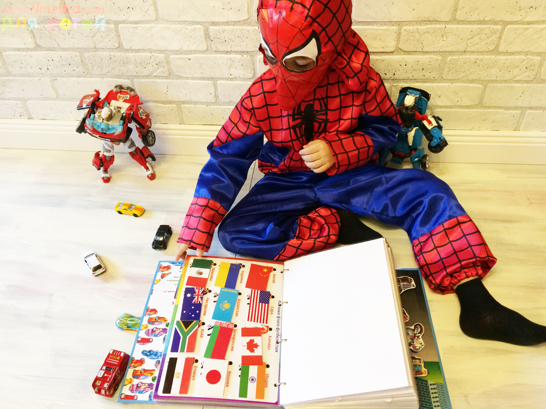 """Игры на липучках для детей. Развивающее игровое пособие """"Игры для мальчишек"""", часть 1"""