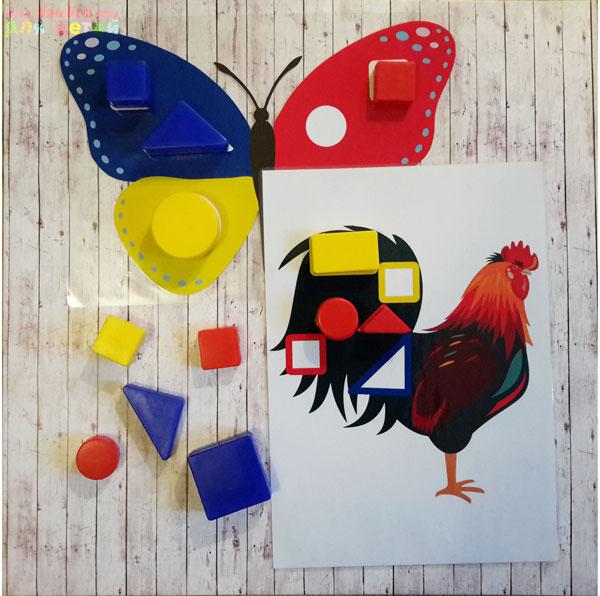 Альбом для малышей «Логические блоки» Методика Золтана Дьенеша, шаблоны скачать для печати