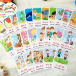 Логопедические карточки для развития речи малышей «Карточки — бормоталки (Чистоговорки)»