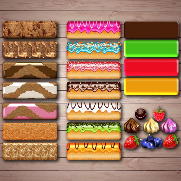 Игра на развитие памяти и внимания «Печем торты» скачать для печати