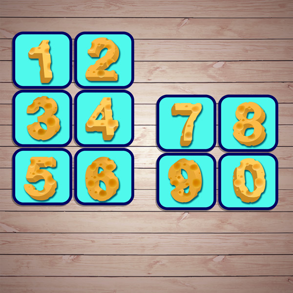 Настольные игры распечатай и играй! Математическая игра «Сырный счёт» скачать для печати